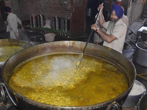 Langar at Golden Temple, Amritsar