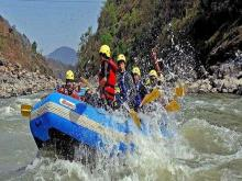Rafting in Teesta River