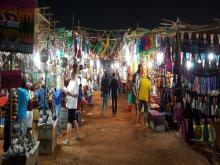 Arpora Saturday Night Market, Goa